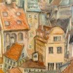 Český Krumlov | pastel