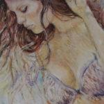 Fialová | olej na plátně