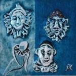 Komedie DEL ARTE | plastik zn.