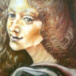 Kopie k obrazu | skica, tempera