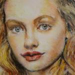 Princeznička | olej na plátně | 50 x 60 cm