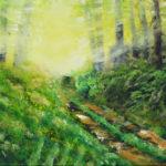 V lese | olej na plátně