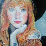 Portrét | olej na plátně